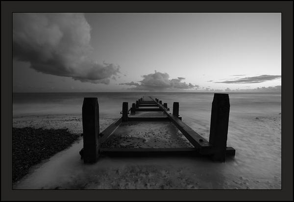 North sea groyne. by paulthepunk
