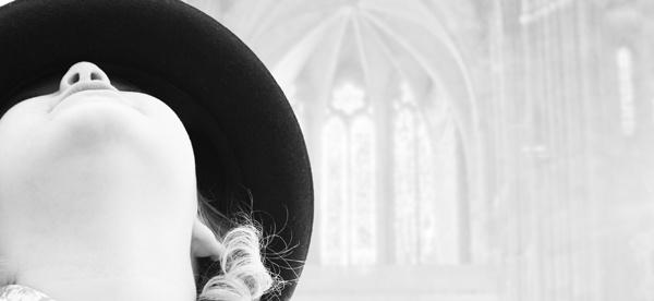 Athena in church by MarkBowker