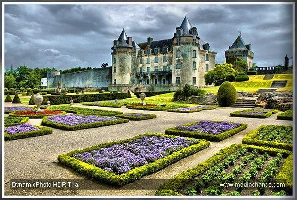 Château De Roche Courbon by dven