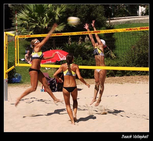 Beach Volleyball by Graham_Woolmer