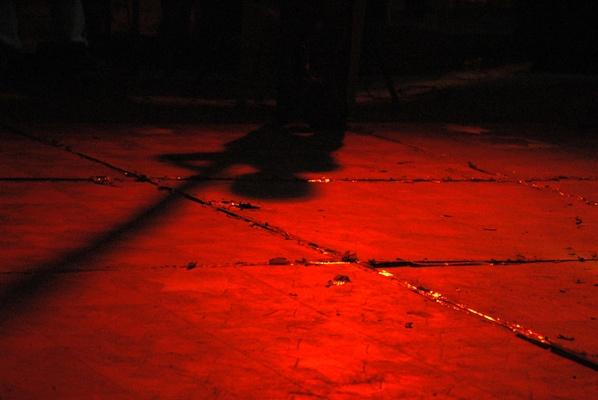 Red shadow by sunayana