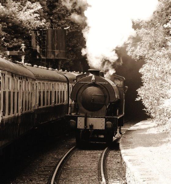 Steam at Haverthwaite by simbastuff