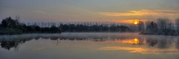 Belgian morning [PANO] by PeterK001