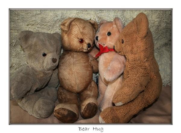 Bear Hug by JanieB43