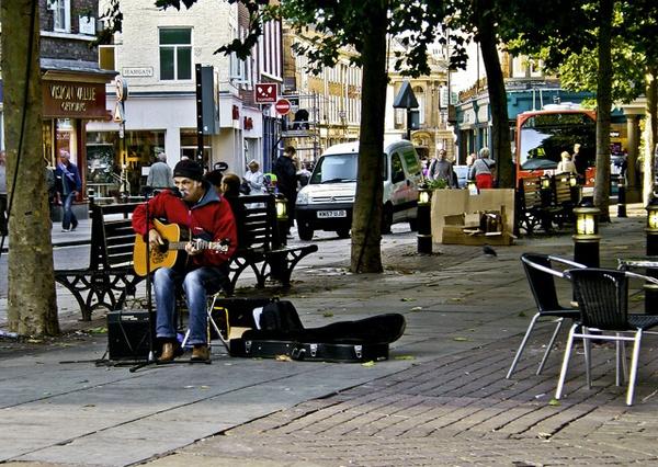 Street scene by madbilly