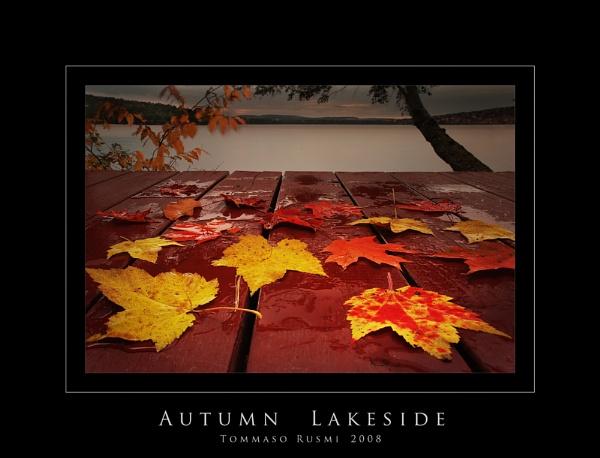 Autumn Lakeside by rusmi