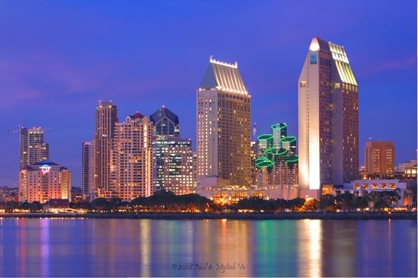 San Diego @ Sunset by paulvo