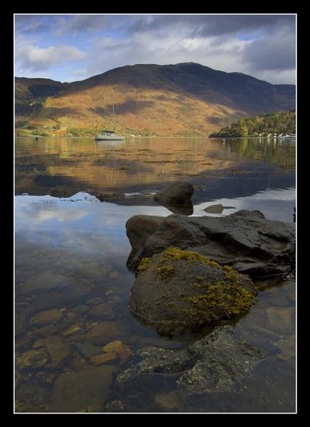 Loch Leven Rocks by Boagman65