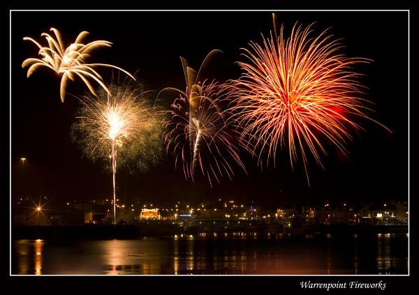 Warrenpoint Fireworks by Sconz