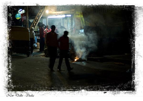 Delhi by Night by MorneR