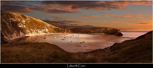Lulworth Cove Sunset by Kris_Dutson