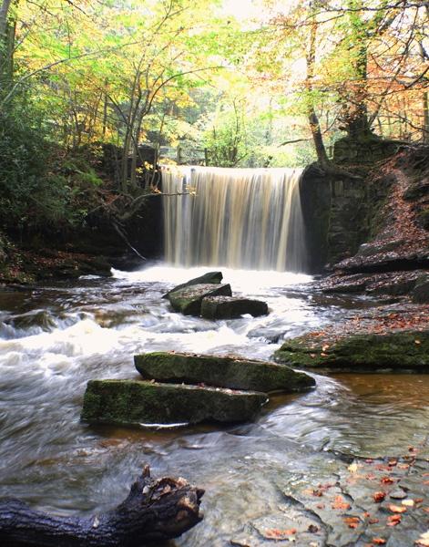 Waterfall by Tettie