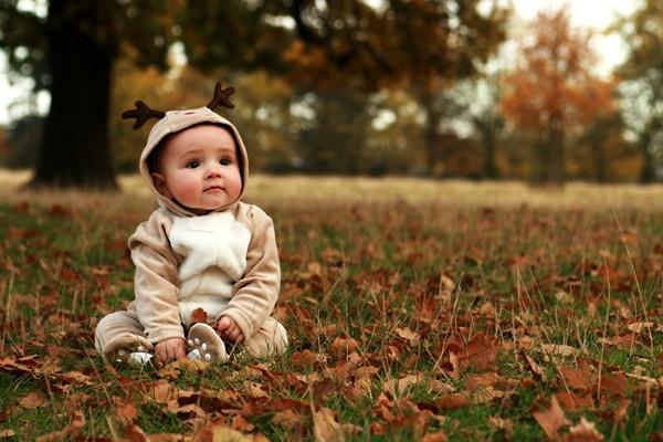 Baby reindeer by vickik