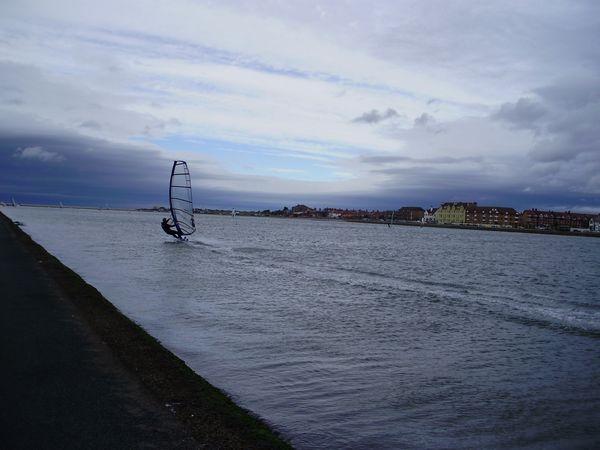 Windsurfin West Kirby Marina Lake by Wheelers0161