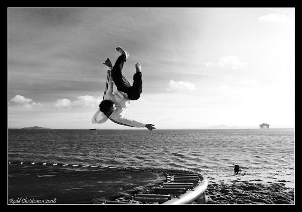 Flying... by RoddBC