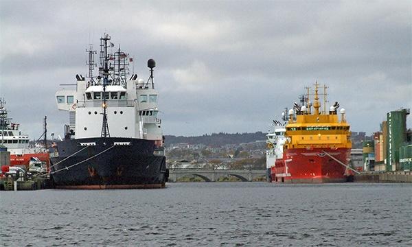 Aberdeen Harbour by Redbull
