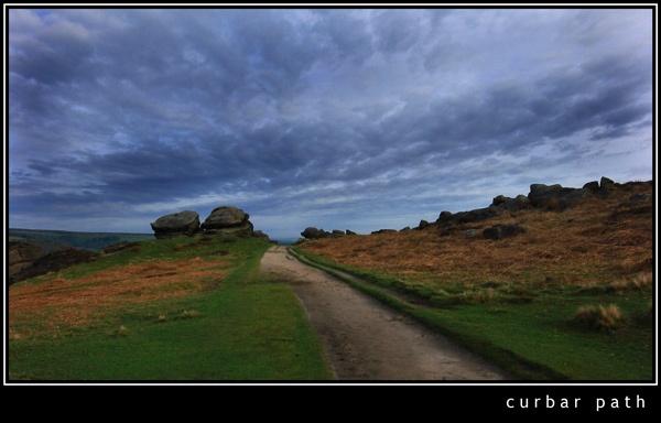 Curbar path by 11thearlofmar