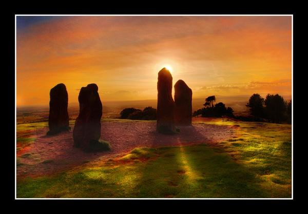 Sunset Stones by Merciaman