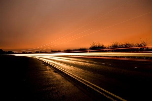 Night Road by moonlightallan