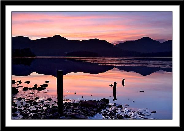 Derwentwater sunset by DLLP