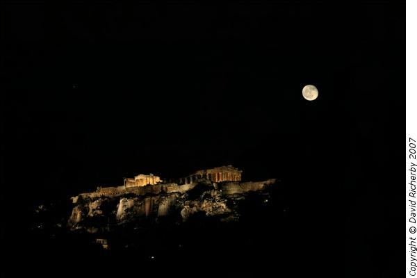 Acropolis Moonrise by DRicherby