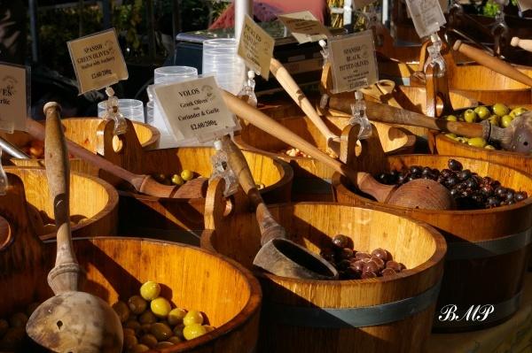 Olives - Saffron Walden Market by BruceBMP