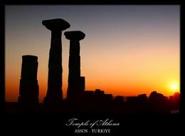 Temple of Athena / ASSOS - Turkey