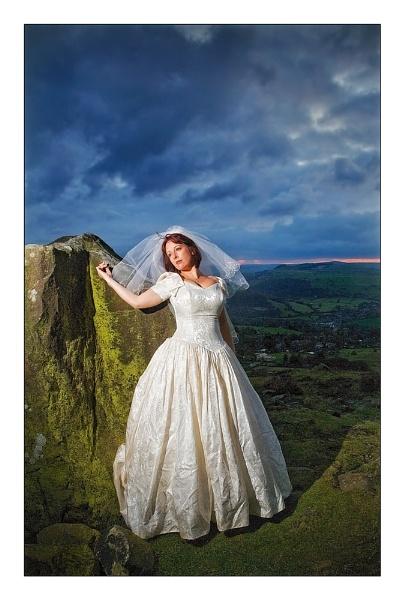 Curbar Bride by MarkT