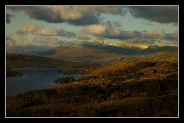 Cruachan at Loch Awe by AliMurray