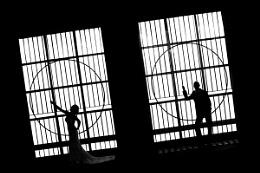 Bride&Groom Lines&Darkness
