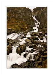 Ogwen Falls, Snowdonia
