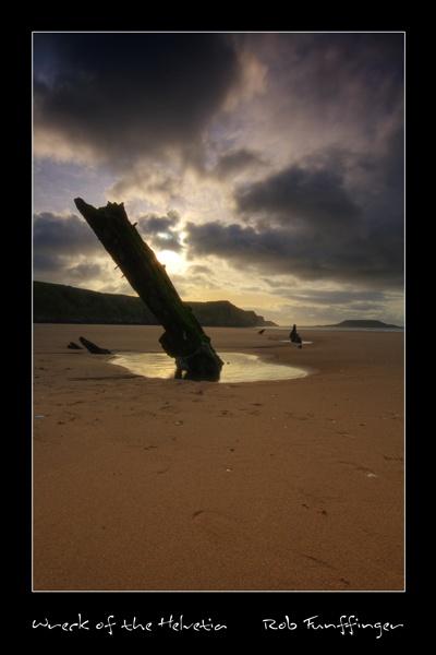 Wreck of the Helvetia by sneenky