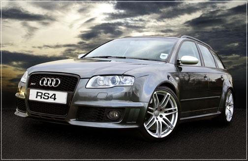 Audi RS4 by HilaryWhite