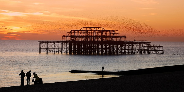 Brighton sunset by jasonr6