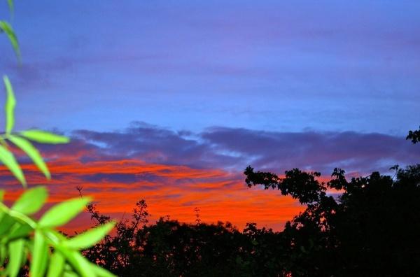 Sky on Fire by DebbieBMP