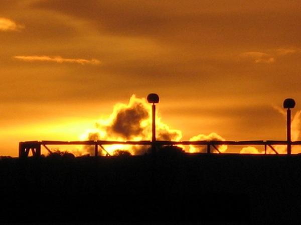 industrial sunset by grockleJB