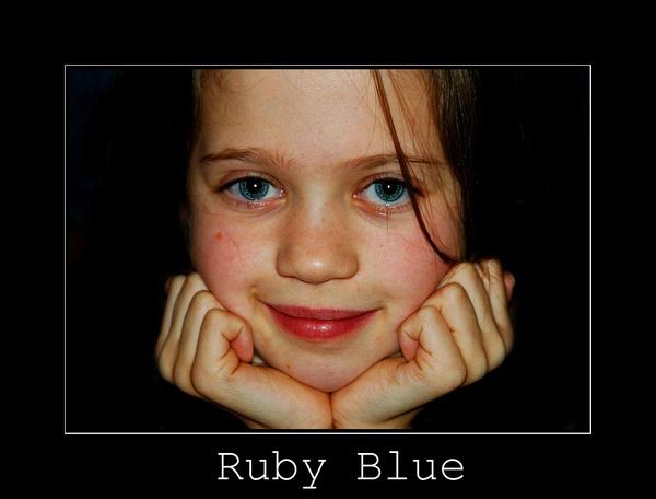 Ruby Blue. by Annie1998