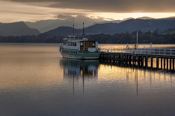 Ullswater Ferry by davey