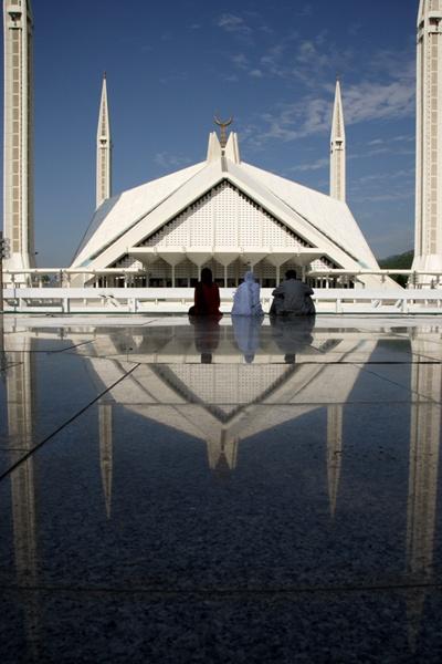 Faisal Mosque by Curtis Welsh