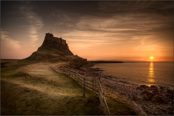 Lindisfarne Dawn II by Wooly