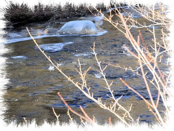 Icy River by chuckspics