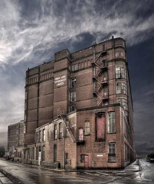 Swan Lane Mill by whiteboxer