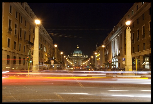 St Peter\'s at night by CC