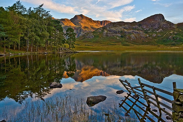 Blea tarn by oldbarrowboy