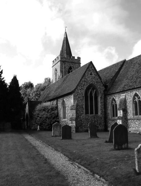 Manuden Church by DebbieBMP