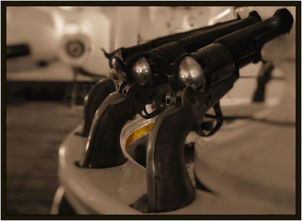 Victory guns by Swanvio