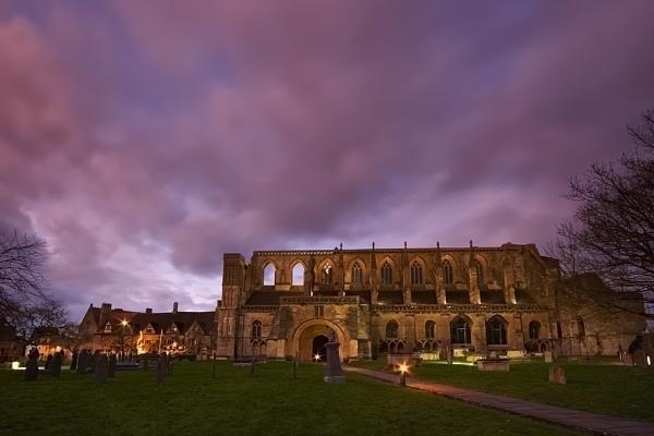Malmesbury Abbey by strawman