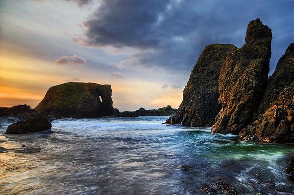 Elephant Rock, Ballintoy by mcsimeyb