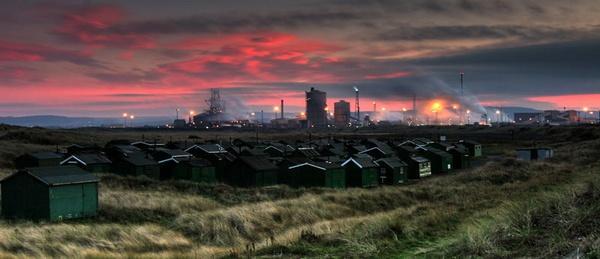 South Gare Fishermens Huts by photodocktor
