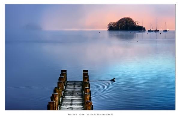 Mist on Windermere.. by chris-p